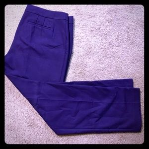 Loft Purple Dress Pants
